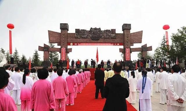 """陇东""""百花杯""""田园太极拳交流大赛在宁县举办"""